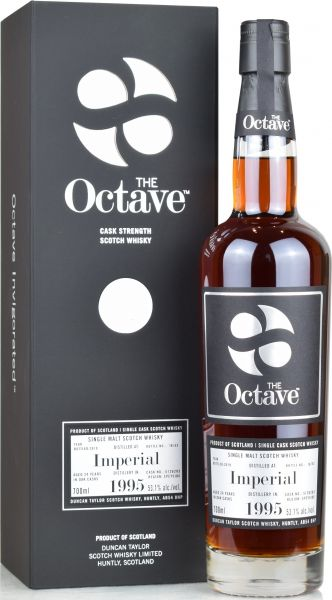 Imperial 24 Jahre 1995/2019 Duncan Taylor Sherry Premium Octave Cask #5126283 53,1% vol.