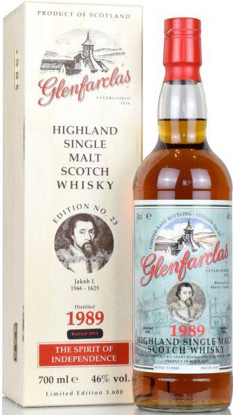 Glenfarclas 1989/2019 Edition No. 23 Jakob I.
