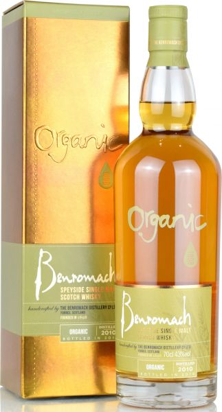 Benromach Organic 2010/2018 Special Edition 43% vol.
