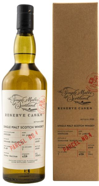 Linkwood 10 Jahre 2009/2020 The Single Malts of Scotland Reserve Casks 48% vol.