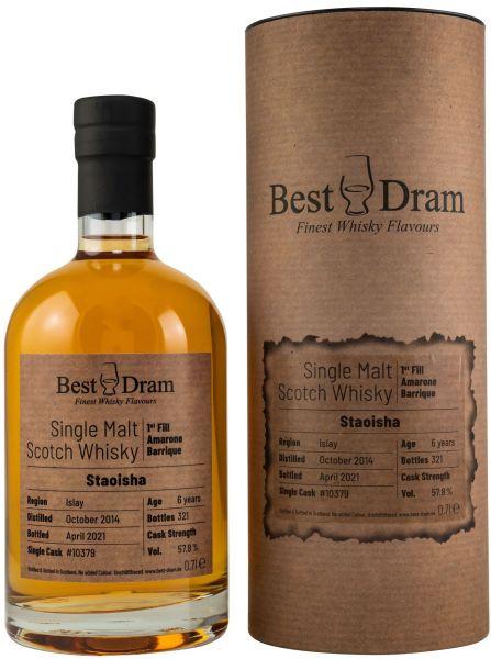Staoisha 2014/2021 Amarone Cask Best Dram 57,8% vol.
