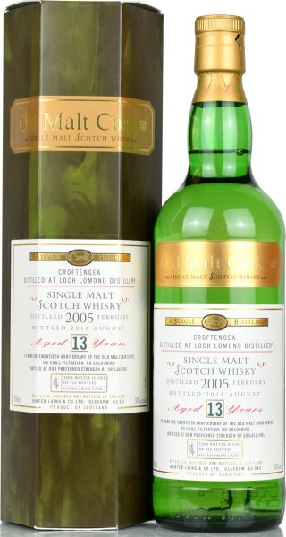 Croftengea 13 Jahre 2005/2018 Hunter Laing 20th Anniversary Old Malt Cask