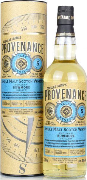 Bowmore 5 Jahre 2013/2019 Provenance Douglas Laing 46% vol.