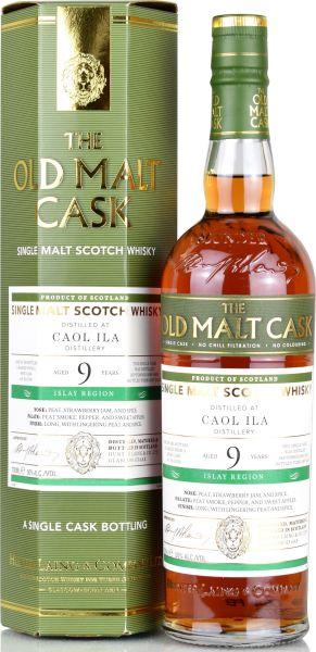 Caol Ila 9 Jahre 2009/2019 Wine Cask Hunter Laing Old Malt Cask 50% vol.