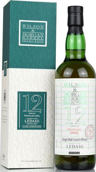 Ledaig 12 Jahre 2005/2018 Oloroso Sherry Finish Wilson & Morgan 57,0% vol.