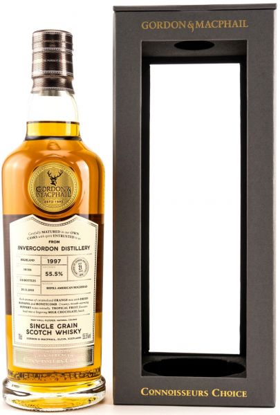 Invergordon 21 Jahre 1997/2018 Gordon & MacPhail Cask Strength 55,5% vol.