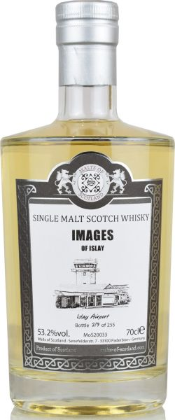 """Images of Islay """"Islay Airport"""" Malts of Scotland 53,2% vol."""