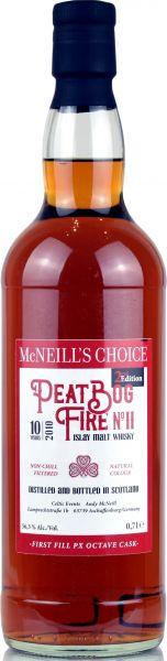 Peat Bog Fire No. 2 Batch #2 10 Jahre 2010 1st Fill PX Sherry McNeill's Choice 56,3% vol.