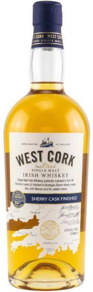 West Cork Sherry Cask Finish 43% vol.