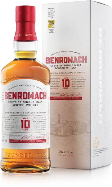 Benromach 10 Jahre Neues Design