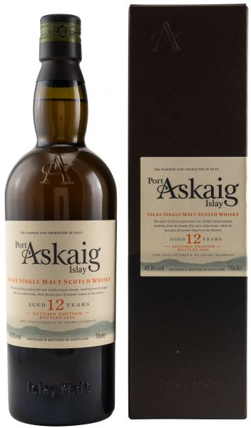 Port Askaig 12 Jahre Autumn Edition 45,8% vol.