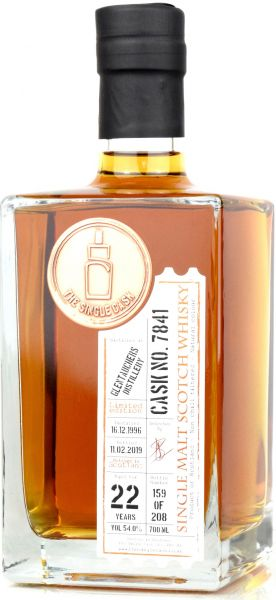 Glentauchers 22 Jahre 1996/2019 The Single Cask 54,0% vol.