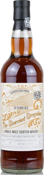 Speyside Distillery 10 Jahre 2009/2020 Oloroso Sherry Cask Svenska Eldvatten 58,1% vol.