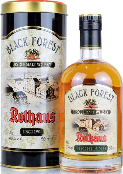 Black Forest Rothaus Edition 2019 Highland Cask 46% vol.
