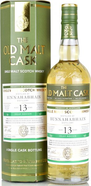 Bunnahabhain 13 Jahre 2005/2019 Hunter Laing Old Malt Cask 50% vol.