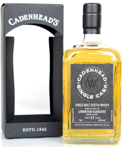 Linkwood 11 Jahre 2006/2018 Single Cask Cadenhead's for Japan 58,4 % vol.