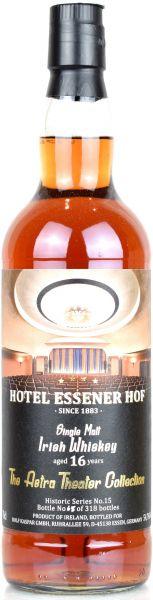 Irish Malt 16 Jahre Hotel Essener Hof Astra Theater Collection #15 Port Cask 54,7% vol.
