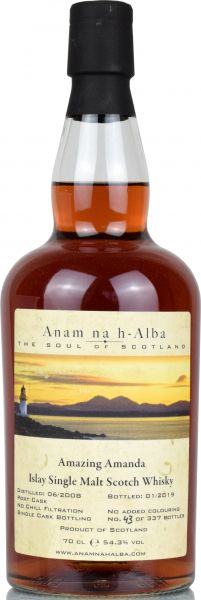 Amazing Amanda 2008/2019 South Islay Port Cask Anam na h-Alba 54,3% vol.