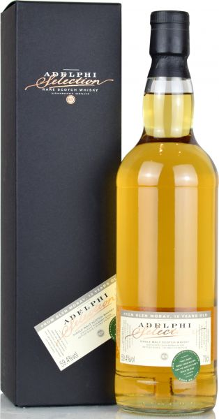 Glen Moray 10 Jahre 2008/2019 Adelphi #5584 59,4% vol.