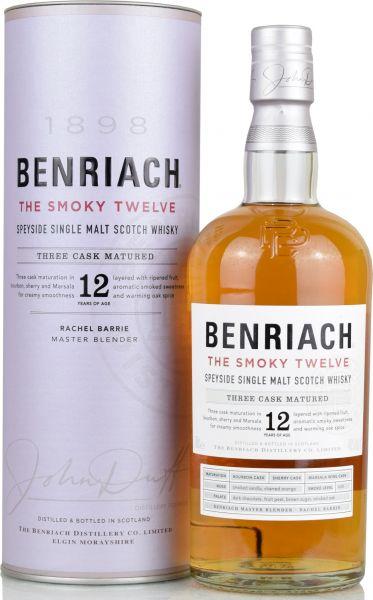 Benriach 12 Jahre The Smoky Twelve Three Cask Matured