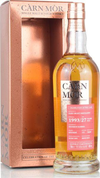 Glen Grant 27 Jahre 1993/2021 Carn Mor Celebration of the Cask 49,5% vol.