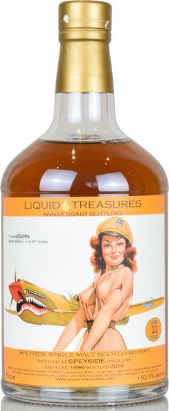 Speyside Distillery 22 Jahre 1996/2019 Liquid Treasures Anniversary Bottling 53,1% vol.