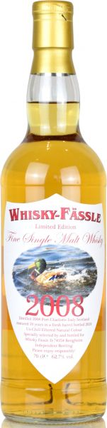 Port Charlotte 10 Jahre 2008/2019 Whisky-Fässle Duck-Label 62,7% vol.