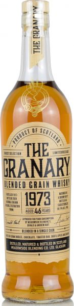The Granary 46 Jahre 1973/2020 Sherry Cask The Grainman 50,1% vol.
