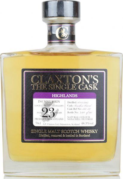 Inchmurrin 23 Jahre 1997/2020 Claxton's 48,3% vol.