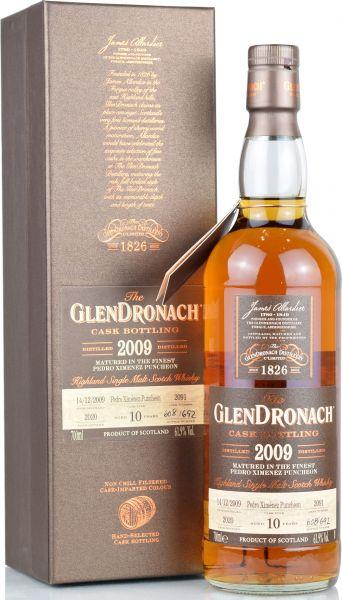 Glendronach 10 Jahre 2009/2020 Batch 18 Single Cask #2091 61,9% vol.