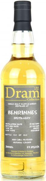Benrinnes 9 Jahre 2009/2019 C&S Dram Collection #306952 55,8% vol.