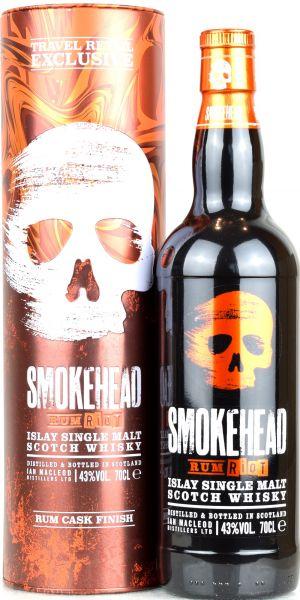 Smokehead Rum Riot 43% vol.