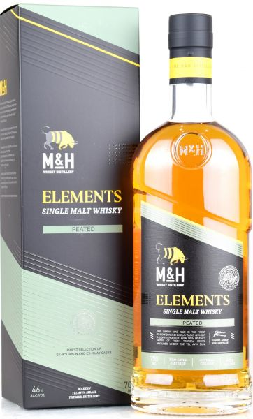 Milk & Honey Elements Peated 46% vol.
