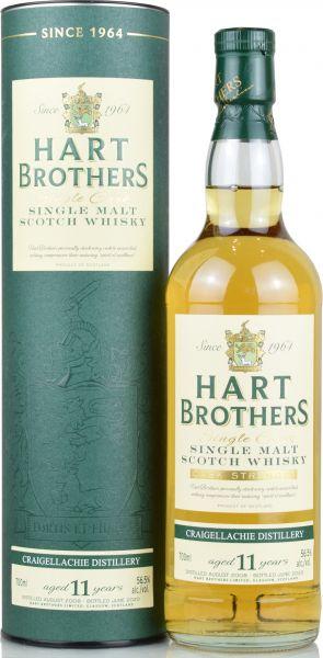 Craigellachie 11 Jahre 2008/2020 Hart Brothers 56,5% vol.