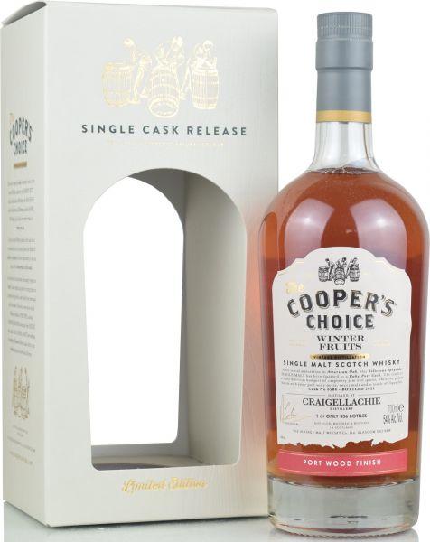 "Craigellachie ""Winter Fruits"" 2021 Port Wood Finish Cooper's Choice 54% vol."