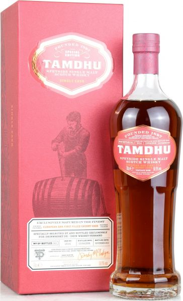 Tamdhu 2006/2019 1st Fill Sherry Single Cask for deinwhisky.de 58,9% vol.