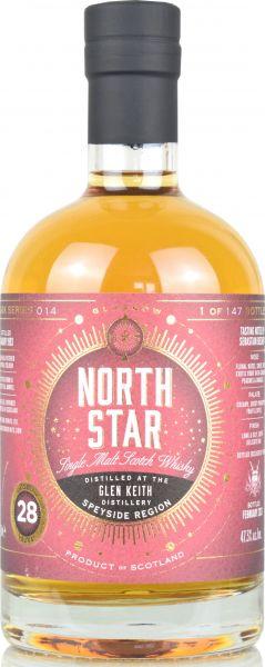 Glen Keith 28 Jahre 1993/2021 North Star Spirits for deinwhisky.de 47,3% vol.
