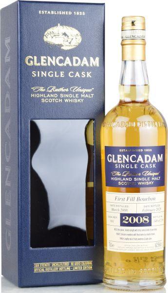 Glencadam 11 Jahre 2008/2020 1st Fill Bourbon #881 62,5% vol.
