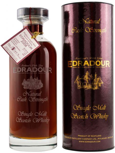 Edradour 12 Jahre 2008/2020 Signatory Vintage Ibisco Decanter #140 57,7% vol.
