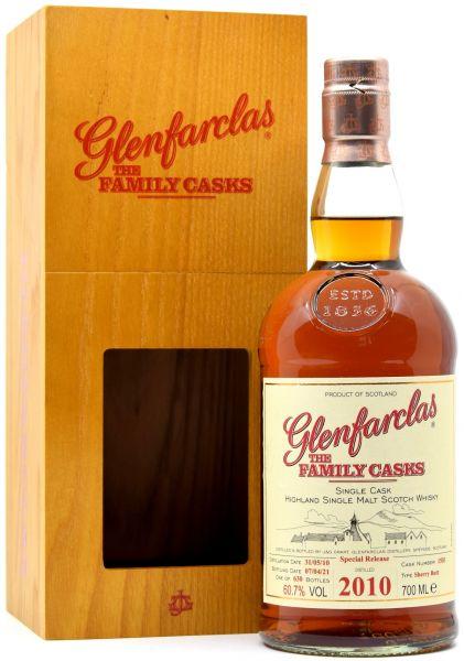 Glenfarclas 2010/2021 Family Casks Exclusive for Germany #1503 60,7% vol.