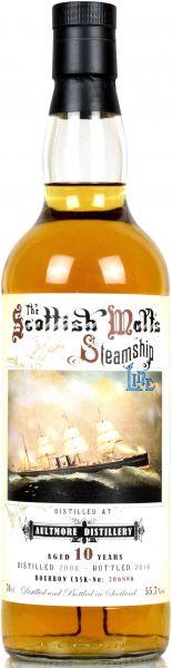 Aultmore 10 Jahre 2006/2016 Jack Wiebers Scottish Malt's Steamship Line 55,7% vol. - hier kaufen!