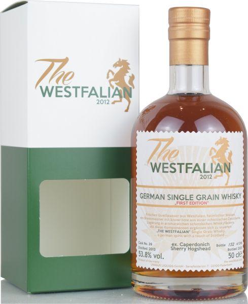 The Westfalian Single Grain 2013/2021 Ex-Caperdonich Sherry Cask #39 53,8% vol.
