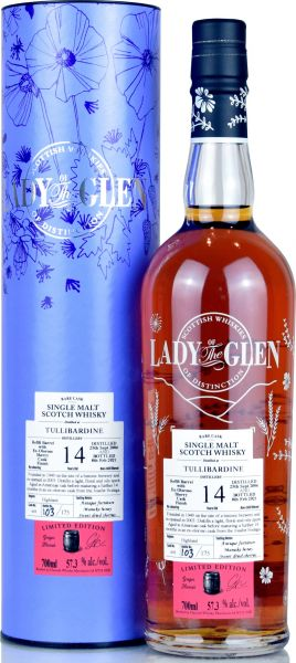 Tullibardine 14 Jahre 2006/2021 Sherry Cask Lady of the Glen 57,3% vol.