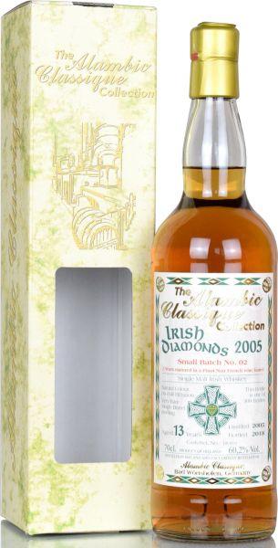 Irish Diamonds 13 Jahre 2005/2018 Batch No. 2 Pinot Noir Alambic Classique