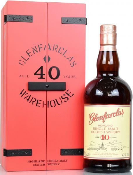 Glenfarclas 40 Jahre 43% vol.