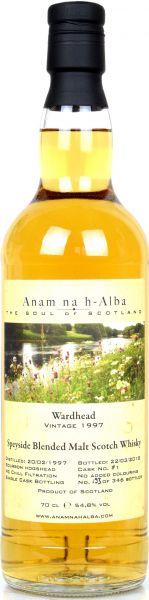 Wardhead 21 Jahre 1997/2018 Anam na h-Alba 54,8% vol.