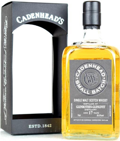 Glenrothes 17 Jahre 2002/2019 Cadenhead 55,5% vol.
