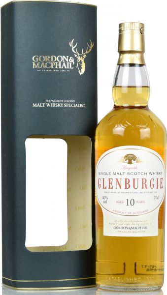 Glenburgie 10 Jahre Gordon & MacPhail Distillery Label