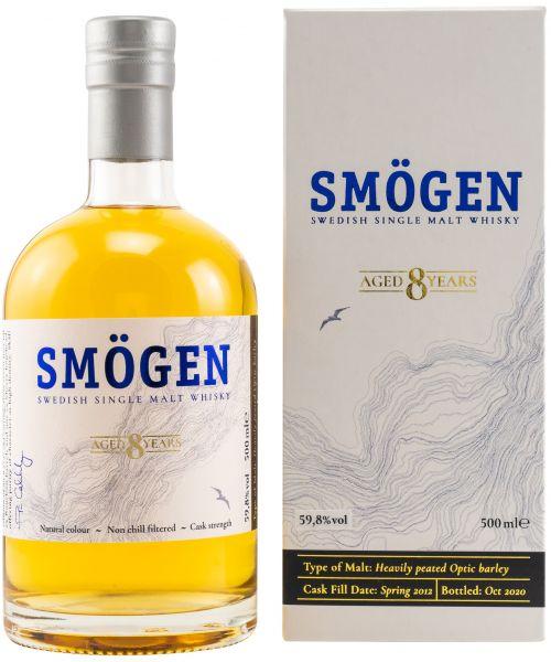 Smögen 8 Jahre 2012/2020 Swedish Single Malt Whisky 59,8% vol.