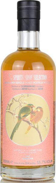 Tobermory 8 Jahre 2010/2019 Sherry Cask Sansibar Chinese Birds Label 53,7% vol.